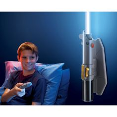 Star Wars Remote-Controlled Lightsaber Room Light: For the Star Wars lover out there, there's no beating the Star Wars Remote-Controlled Lightsaber Room Light ($30). Like a night light for big kids, the Lightsaber is controlled remotely and changes to one of eight colors once it is illuminated.