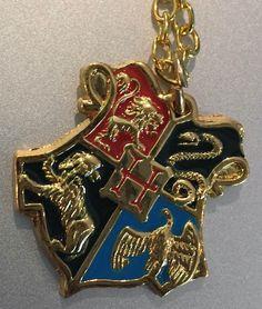 Harry Potter Hogwarts necklace