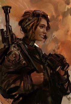 I spot friendlies Picture (2d, sci-fi, soldier, girl, woman, sniper)