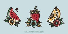 Series of Fruit BUY MY ART ON THINGS HERE: ✖ SOCIETY6 SHOP ✖ REDBUBBLE SHOP