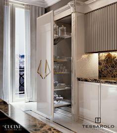 Kitchen Pantry Design, Luxury Kitchen Design, Home Decor Kitchen, Interior Design Kitchen, Home Kitchens, Best Modern House Design, Duplex House Design, Living Room Tv Unit Designs, Elegant Kitchens