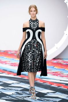 Peter Pilotto - London Fashion Week Spring 2013 Runway Looks - Best Spring 2013 Runway Fashion - Harper's BAZAAR