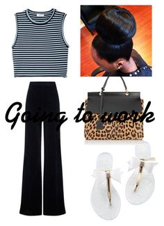 """Going to work"" by bethanie-bl ❤ liked on Polyvore featuring beleza, A.L.C., AG Adriano Goldschmied e Lanvin"