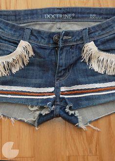 DIY Festival Cutoffs x Doctrine Jeans