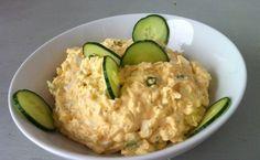 Eggs haloumi and avocado. Paleo Recipes, Dinner Recipes, Cooking Recipes, Czech Recipes, Ethnic Recipes, European Cuisine, Paleo Life, Hungarian Recipes, Hot Soup