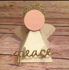 Angel of Peace | Stampin' Up! | Playful Pals | Stylin' Stampin' INKspiration #ssink | Global Design Project #GDP016 #literallymyjoy #angel #peace #punchart #2016OccasionsCatalog