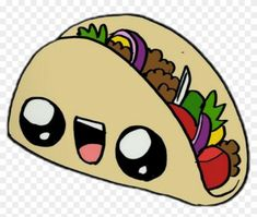 Find Hd Taco Sticker Clipart Png Download Cute Food 365 Sketches Transparent Png To Search And Download More F Kawaii Doodles Doodle Art Drawing Clip Art
