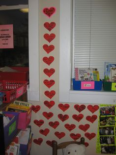 """Love is..... (what they came up with was so sweet after I read the perfect book, """"Love is a Handful of Honey"""" book!)"""