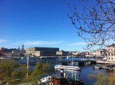 Stockholms Slott - The Royal Castle in Stockholm, Sweden. Photo taken by me, Maria Mikiwer on April 26th 2014.