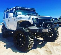 Jeeps Unleashed (@JeepsUnleashed) | Twitter Jeep Cars, Jeep 4x4, Off Road Tires, Jeep Wrangler Accessories, Jeep Wrangler Jk, Rubicon, Jeeps, Chevy, Monster Trucks