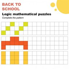 Complete Patterns Mathematical Logic Puzzles Worksheet Easy Worksheet Children P , #affiliate, #Mathematical, #Logic, #Complete, #Patterns #AD Easy Logic Puzzles, Mathematical Logic, 4th Of July Clipart, Third Grade Science, Physics Classroom, Developmental Psychology, Materials Science, Classroom Displays, Little Pigs