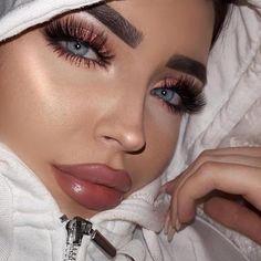 , Wake Up and Make Up, Makeup On Fleek, Glam Makeup, Makeup Inspo, Makeup Art, Makeup Inspiration, Beauty Makeup, Hair Makeup, Hair Beauty, Gorgeous Makeup