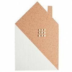Prikbord huis | wit