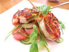 lure fishbar. soho, nyc. seriously good sushi and seafood.