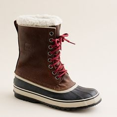 Sorel 1964 leather boots