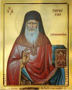 Elder Porfyrios Kavsokalyvitis said: 'You have to be a poet in order to become a Christian. Orthodox Catholic, Orthodox Christianity, Byzantine Icons, Byzantine Art, Religious Paintings, Religious Art, Life Of Christ, Jesus Christ, Russian Icons