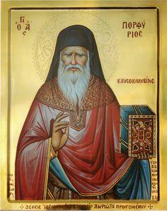 St Porphyre le Kavsokalyvite