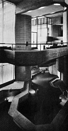 Southeast Massachusetts Technical Institute, North Dartmouth, Massachusetts, 1963-72 (Paul Rudolph)