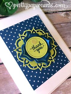 The Debut of Lemon Lime Twist! - Pretty Paper Cards