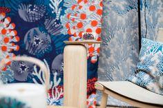Marimekko spring/summer 2015 home collection. #marimekko #ss15. New prints by Kustaa Saksi.