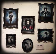 Gothic Fantasy Art, Bratz Doll, Horror Art, Big Eyes, Macabre, Dark Art, Crow, Surrealism, Gallery