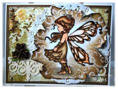 Handmade Fairy Princess Card  ready to by endlesscreationbyjas, $5.50