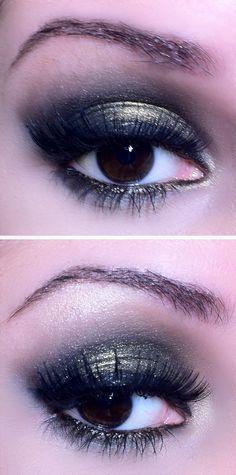 Maquiagem preta com pigmento rz make up - tudo make 02