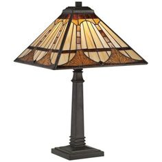 Tiffany Vintage Bronze 21 Inch One Light Table Lamp Quoizel Accent Lamp Table Lamps Lamps Tiffany Style Table Lamps, Tiffany Lamps, Quoizel Lighting, Timber Table, Lamp Shade Store, Home Hardware, Antique Hardware, Light Table, Light Fixtures