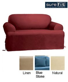 Dimensions:       Fits most loveseats measuring up to 73 in. W X 36 in. H                      Materials:      100-percent cotton                Model No:      139727269B
