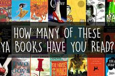 How Many Of These YA Books Have You Read?