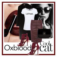 """Dead Legacy: Oxblood"" by dead-legacy ❤ liked on Polyvore featuring Calvin Klein, Wild Diva, Dead Legacy, Karen Millen, Chanel, oxblood, Tshirt, deadlegacy and marsala"