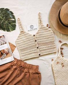 Crochet Tank, Crochet Bikini, Bikinis, Swimwear, Summer Outfits, Tank Tops, Instagram, Pretty, Women