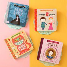 Baby Lit books - love!