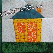 Design a Wonky House Block - via @Craftsy