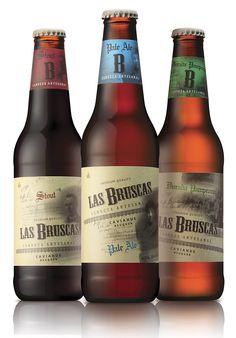 Las BruscasBeer - The Dieline - The #1 Package Design Website -
