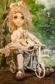 Collectible dolls handmade.  Fair Masters - handmade Alice (Dolls).  Handmade.
