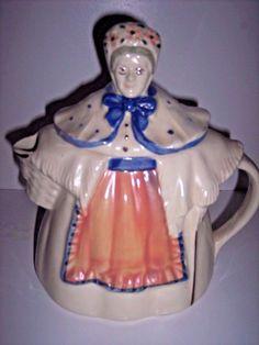Shawnee U.S.A. Pottery Granny Ann 1940's Hand Pained Vintage #Shawnee
