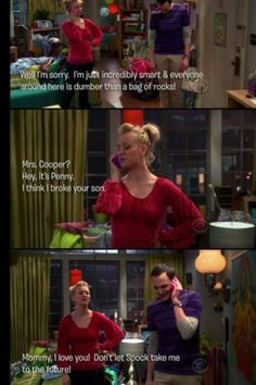 TBBT poor sheldon doesn't wanna go with spock