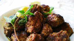 Greske kjøttboller med tzatziki