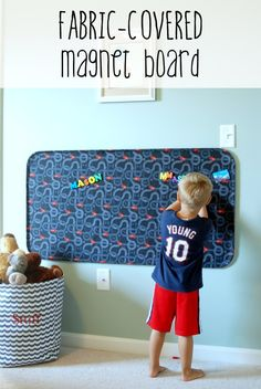 Fabric-Covered Magnet Board