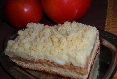 Jablečné řezy / koláč (nejen) s pudinkem - recept. Přečtěte si, jak jídlo správně připravit a jaké si nachystat suroviny. Vše najdete na webu Recepty.cz. Vanilla Cake, Cheesecake, Dairy, Sweets, Food, Hana, Gummi Candy, Cheese Cakes, Candy