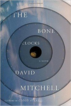 The Bone Clocks by David Mitchell | plot doesn't seem to be right up my alley but then again it's David Mitchell so we have to give it a try!