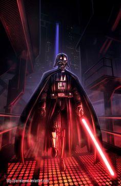 Star Wars Darth Vader Tribute by pierreloyvet.deviantart.com