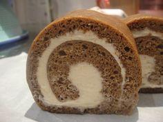 How to make Coffee Swiss Roll Cake Recipe - 咖啡瑞士卷