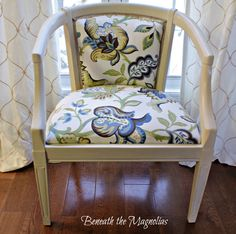 Beneath the Magnolias: Before and After Vintage Chair