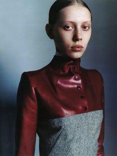 Colette Pechekhonova Vogue Russia (September 1998)... / Jinxproof