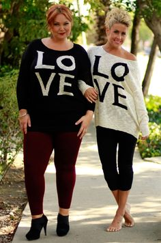 Choose Love Sweater, Be Inspired Boutique