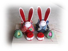 Japanese Folklore, Japan Art, Japanese Culture, Traditional Art, Folk Art, Invitations, Dolls, Christmas Ornaments, Create