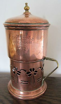 OLD-FRENCH-COPPER-COFFEE-FILTER