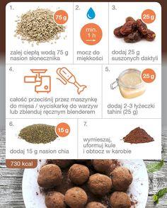 Sodkie kule pene zdrowych tuszczw weganizm wegetarianizm przepis foodpornhellip Tahini, Dog Food Recipes, Muffin, Food Porn, Sweets, Breakfast, Health, Diet, Food Food